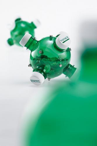 manualidades botella de plastico