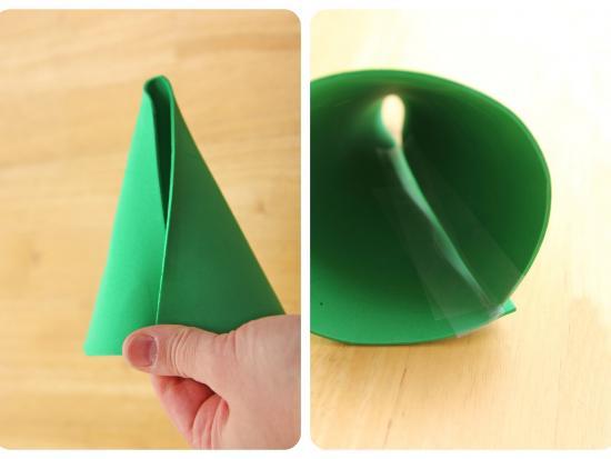 arbol navidad conico goma eva