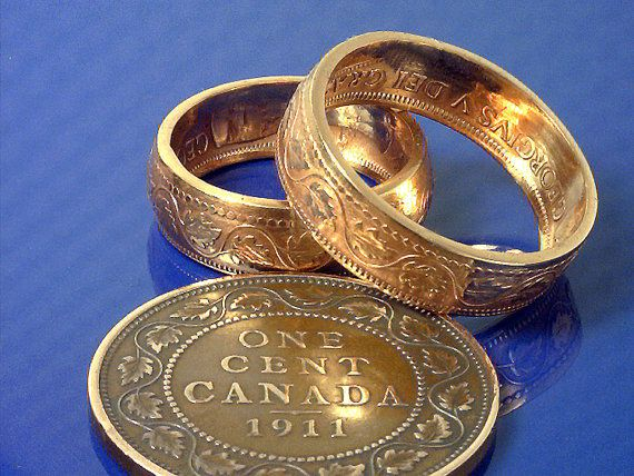 como hacer un anillo con moneda