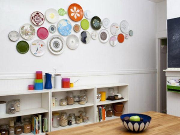 manualidades-para-decorar-las-paredes-platos-cocina