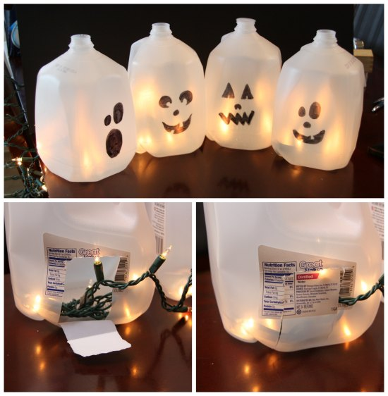 manualidad-de-halloween-fantasmas-con-garrafas-de-agua