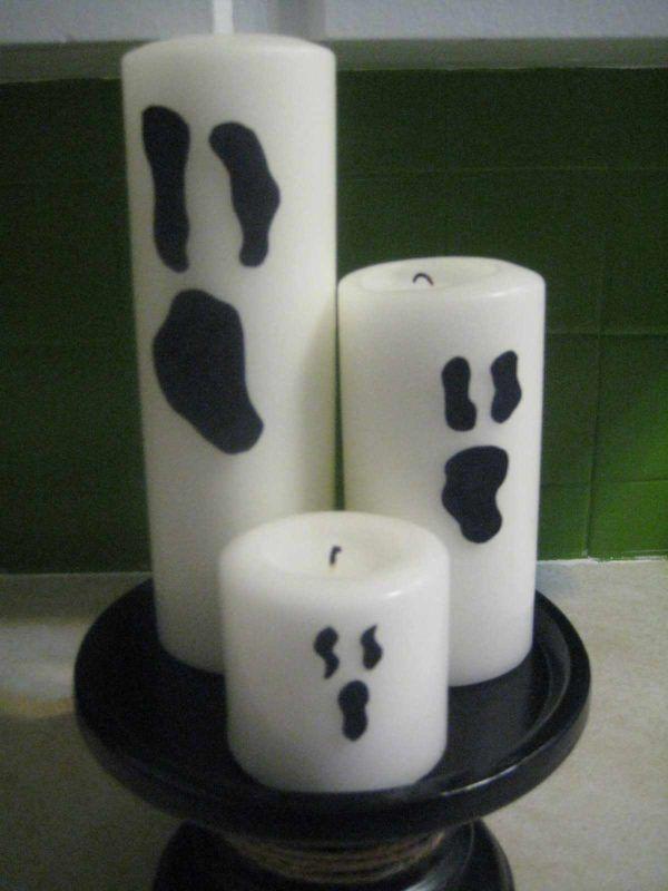 Velas para Halloween caseras: ¿sabes cómo hacerlas?