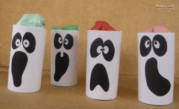 manualidades-halloween-niños-fantasmas