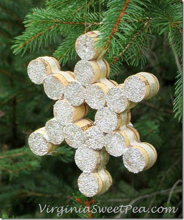 decoracion-material-reciclado-copo-de-nieve