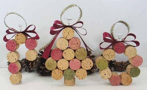 decoracion-material-reciclado-corcho-arbol-de-navidad