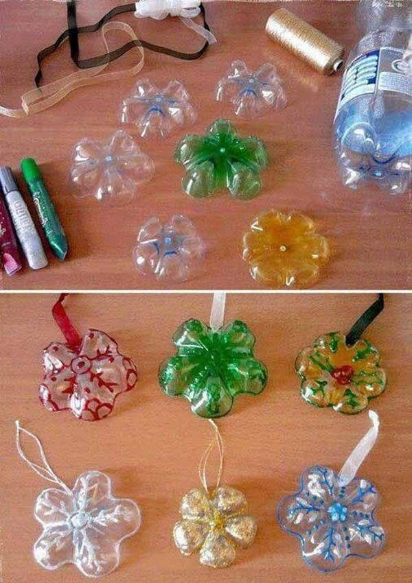 decoracion-navidad-con-botellas-plasticas-adornos