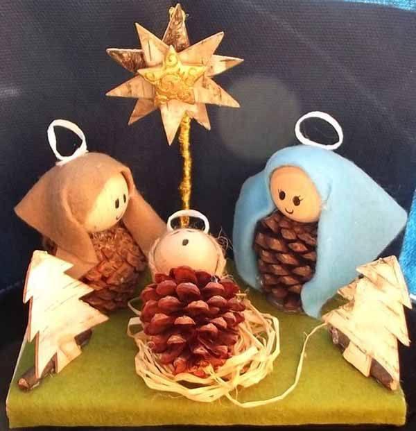 decoracion-navidad-con-pinas-nacimiento