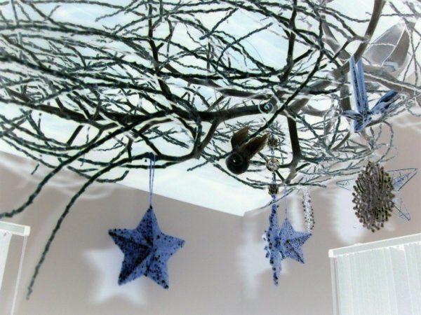 decoracion-de-navidad-para-el-hogar-estrella-azul