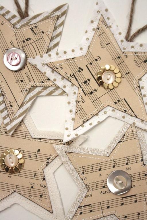 decoracion-navidad-vintage-estrellas