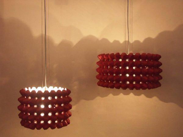 manualidades-recicladas-faciles-lampara