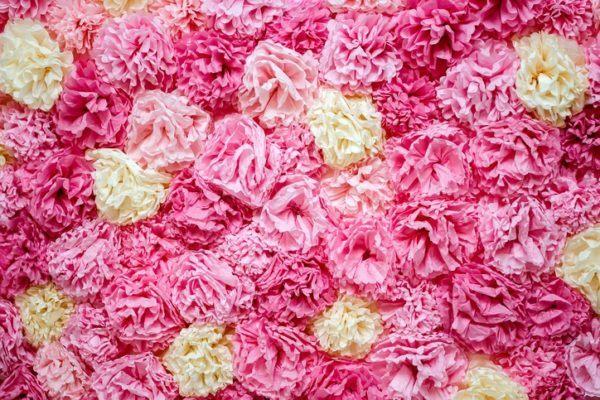 Como hacer flores de papel de seda pequeñas