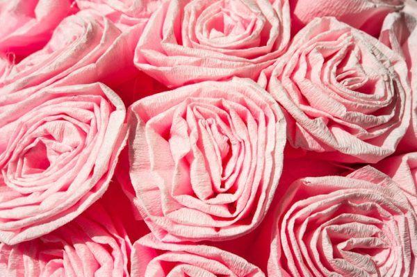 Flores papel crepe rapidas