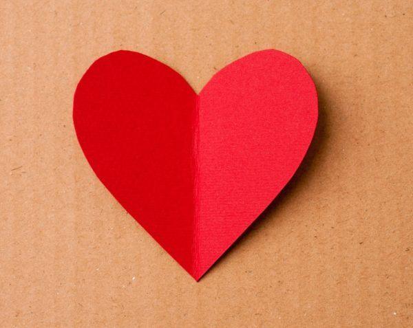 El corazon de papel