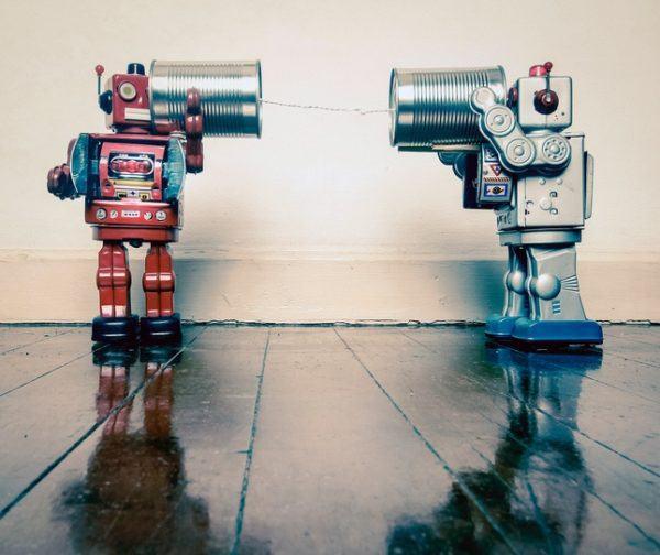 Juguetes reciclados robot