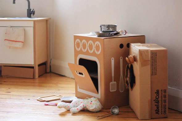 Aprende a hacer juguetes con cajas de carton horno