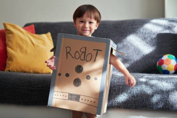 Aprende a hacer juguetes con cajas de carton robot