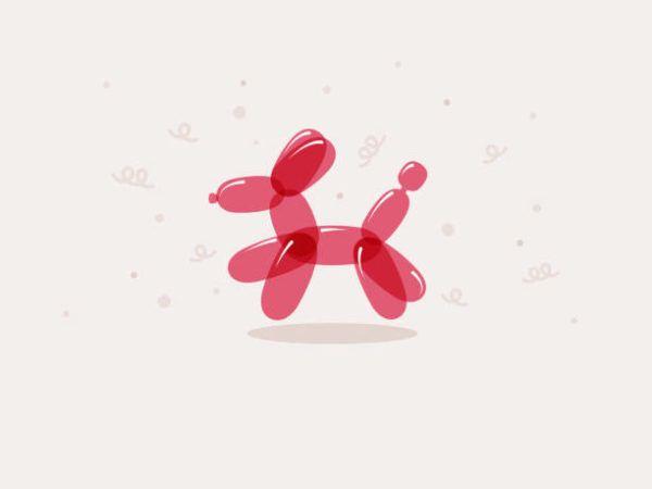 Como hacer animales con globos paso a paso PERRO
