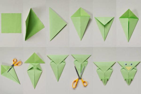 Papiroflexia ninos origami buho
