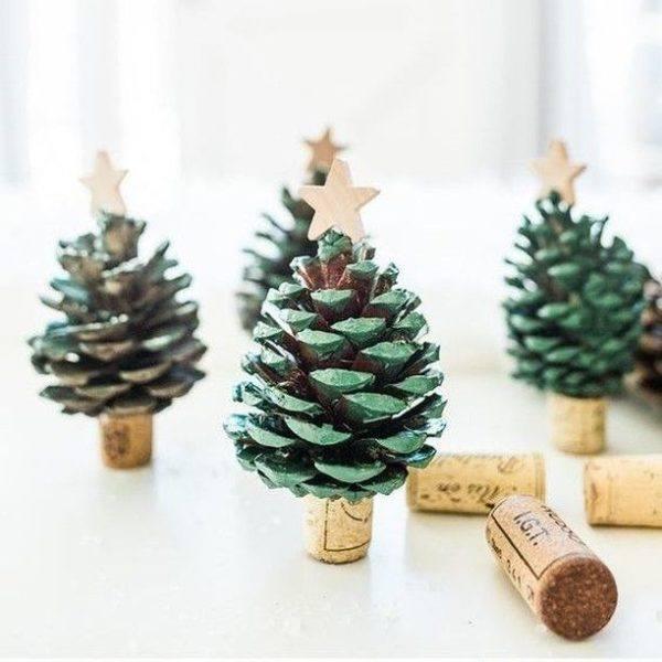 Adornos para el arbol de navidad piña como arbol de navidad