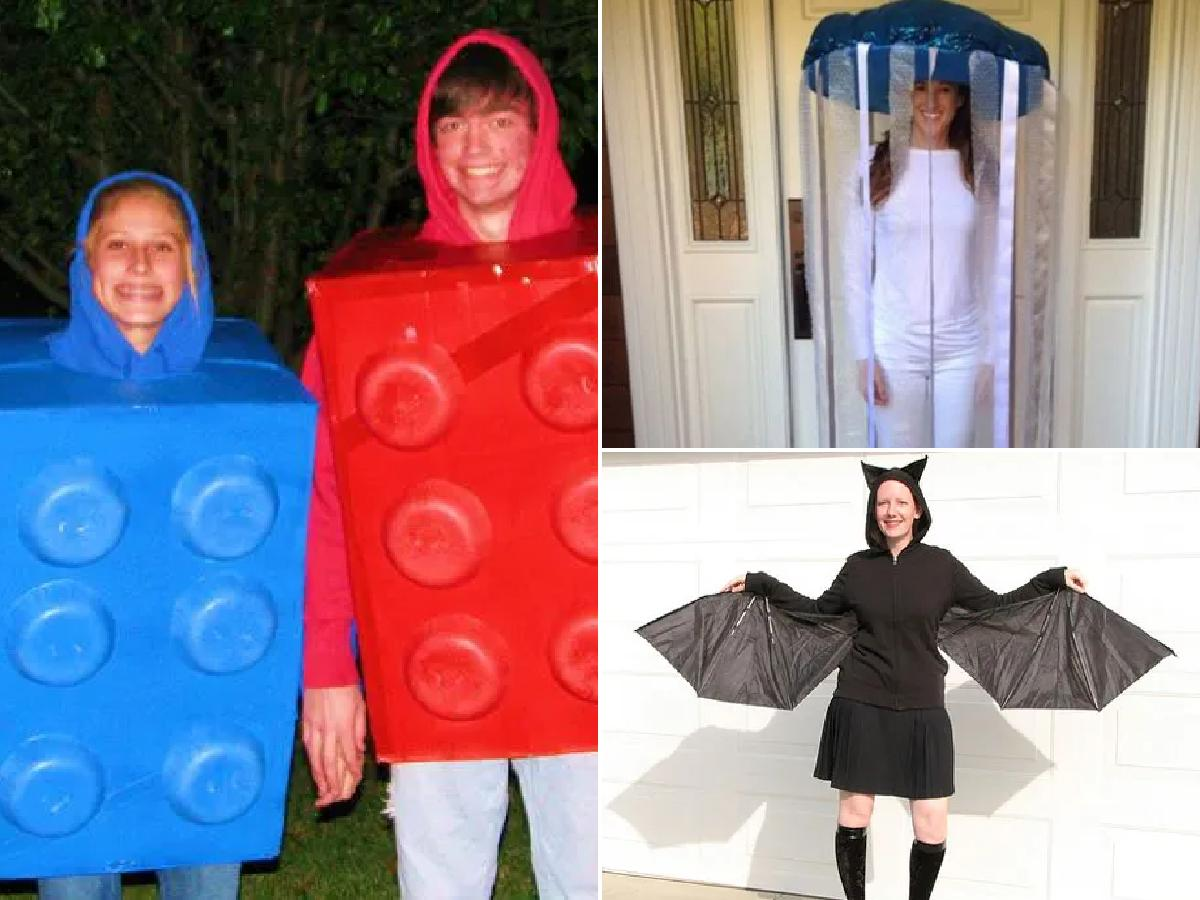 Disfraces caseros de Halloween 2021
