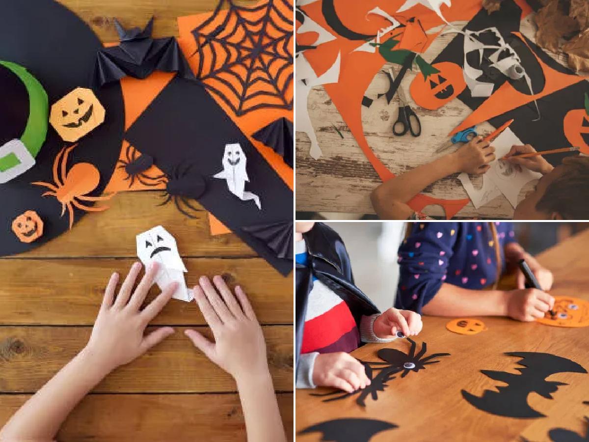 Manualidades Halloween para niños fáciles 2021