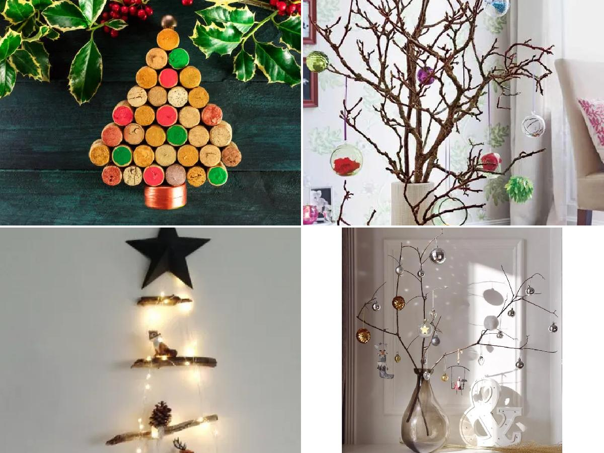 Árboles de Navidad reciclados 2021