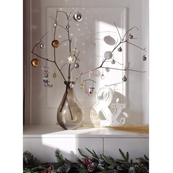 Como hacer arbol navidad ramas sencillas bolas