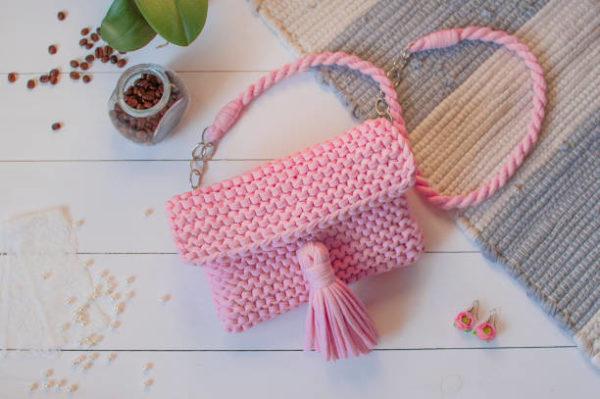 Como hacer bolsa ganchillo paso a paso bolsas modernas bolso rosa