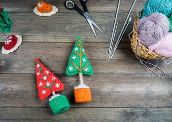 Manualidades para navidad 2020 faciles y para ninos arbol lana