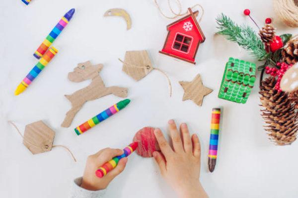 Manualidades para navidad 2020 faciles y para ninos figuras adornos carton