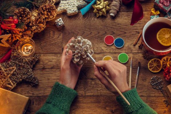 Manualidades para navidad 2020 faciles y para ninos piña