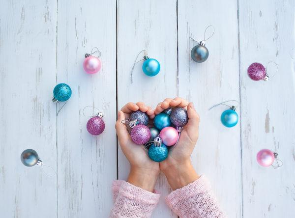 Mejores manualidades con purpurina niños bolas