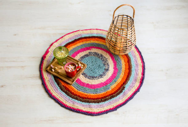 Mejores manualidades ganchillo alfombra