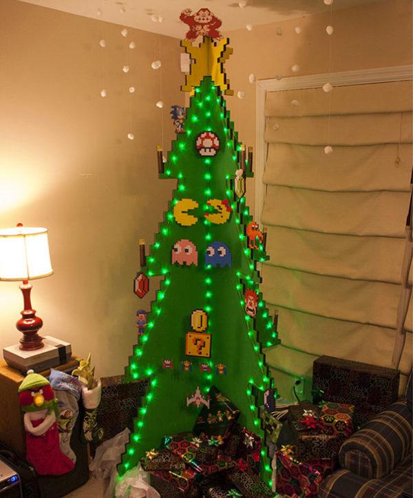 Arboles navidad reciclados carton