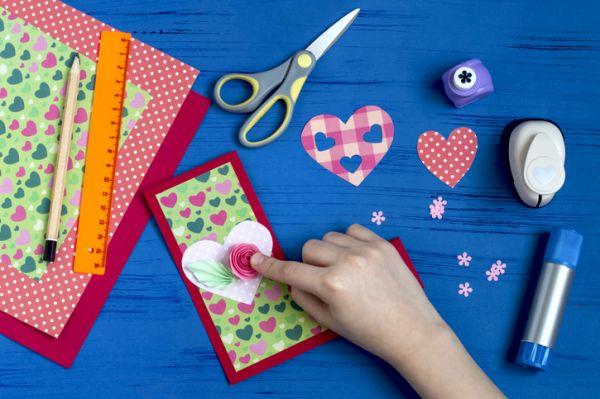 Manualidades para san valentin para ninos tarjetas