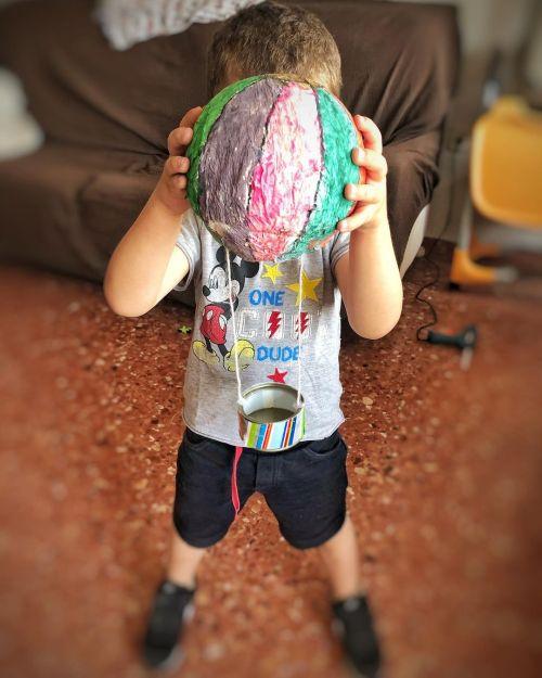Manualidad con globo