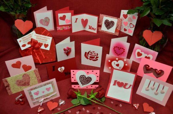 Postales de San Valentín variadas