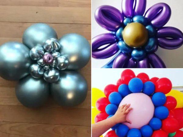 Hacer una flor con globos