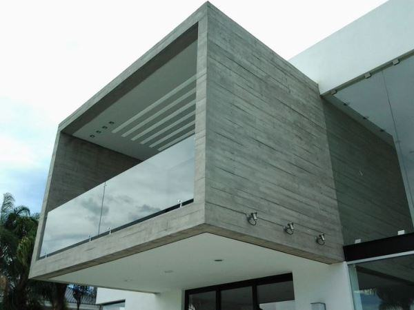 Ideas consejos para hacer fachada casa MODERNA Fachada de cada moderna con hormigón visto