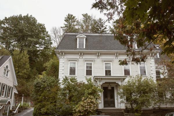 Ideas consejos para hacer fachada casa clásica blanco gris