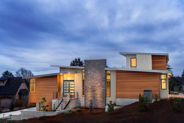 Ideas consejos para hacer fachada casa minimalista con muro piedra