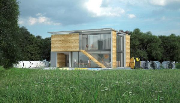Ideas consejos para hacer fachada casa minimalista facahada cubo cristales