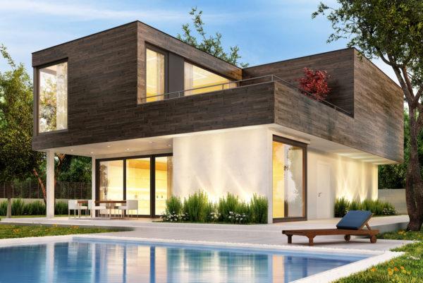 Ideas consejos para hacer fachada casa minimalista fachada cubo dos plantas
