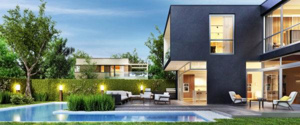 Ideas consejos para hacer fachada casa minimalista fachada cubo negro