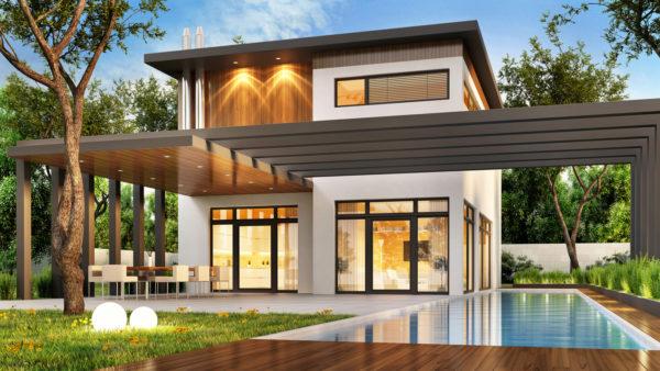 Ideas consejos para hacer fachada casa minimalista fachada luz blanco gris