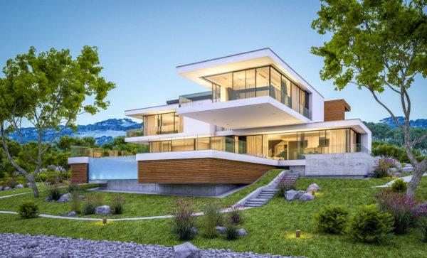 Ideas consejos para hacer fachada casa minimalista fachada tres plantas
