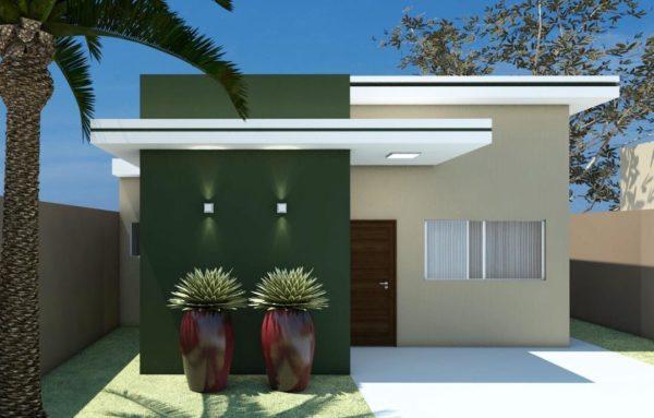 Ideas consejos para hacer fachada casa pequena fachada con colores fuertes