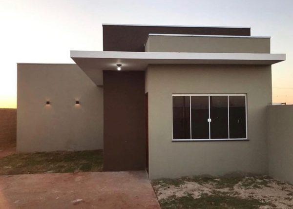 Ideas consejos para hacer fachada casa pequena fachada con colores neutros