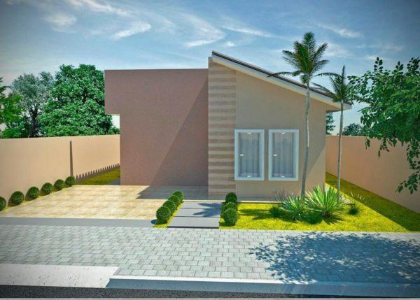 Ideas consejos para hacer fachada casa pequena fachada con diseño moderno