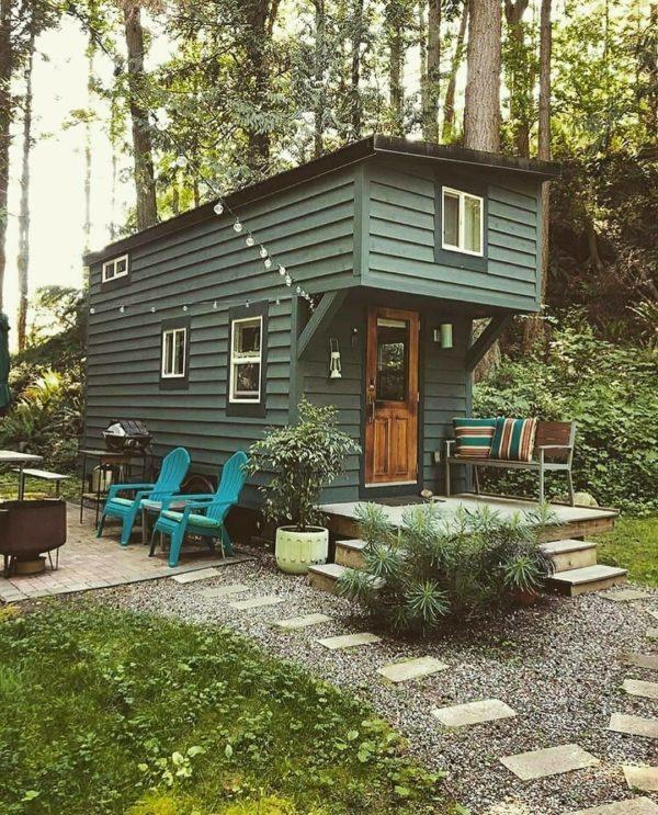 Ideas consejos para hacer fachada casa pequena fachada con diseño moderno para contenedor
